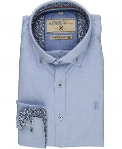 Redmond Overhemd Licht Blauw