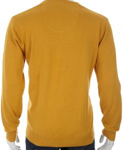 Redmond Pullover Geel_back