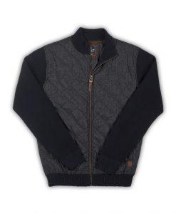 Baileys Sweater Grijs Blauw Ruit Motief 522119_105